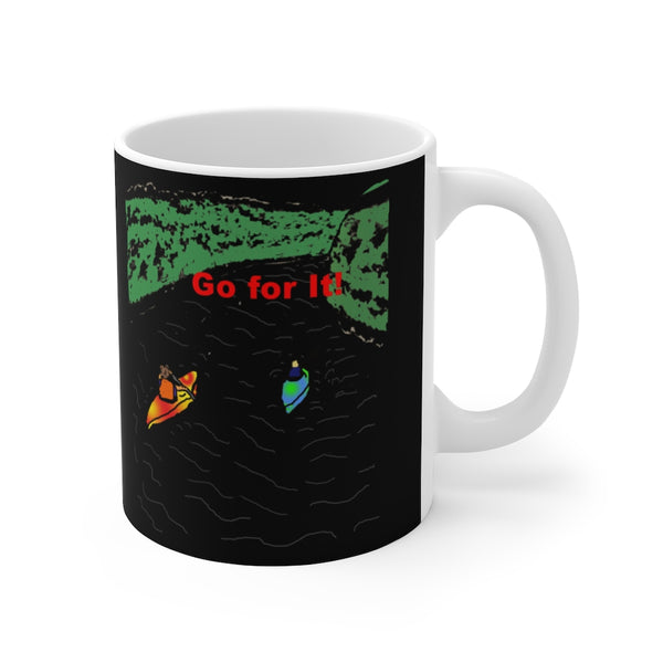 Go For It! In the Dark Mug 11oz