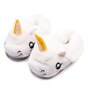 Unicorn slippers for children