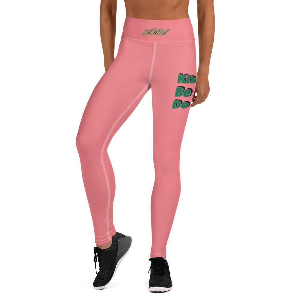 Pink & Pearls Edition Leggings