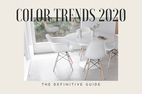 Color Trends 2020: The Definitive Guide