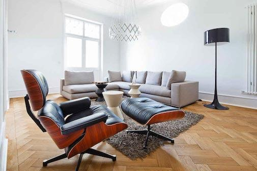Top 10 ideas on where to place your Eames Chair replica