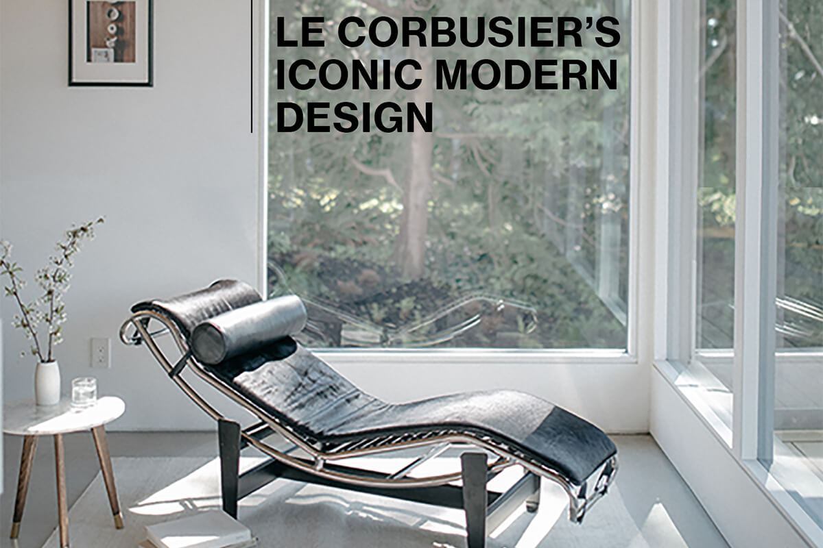 Le corbusier is the most iconic mid century modern architect