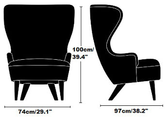 Tom Dixon Wingback Chair