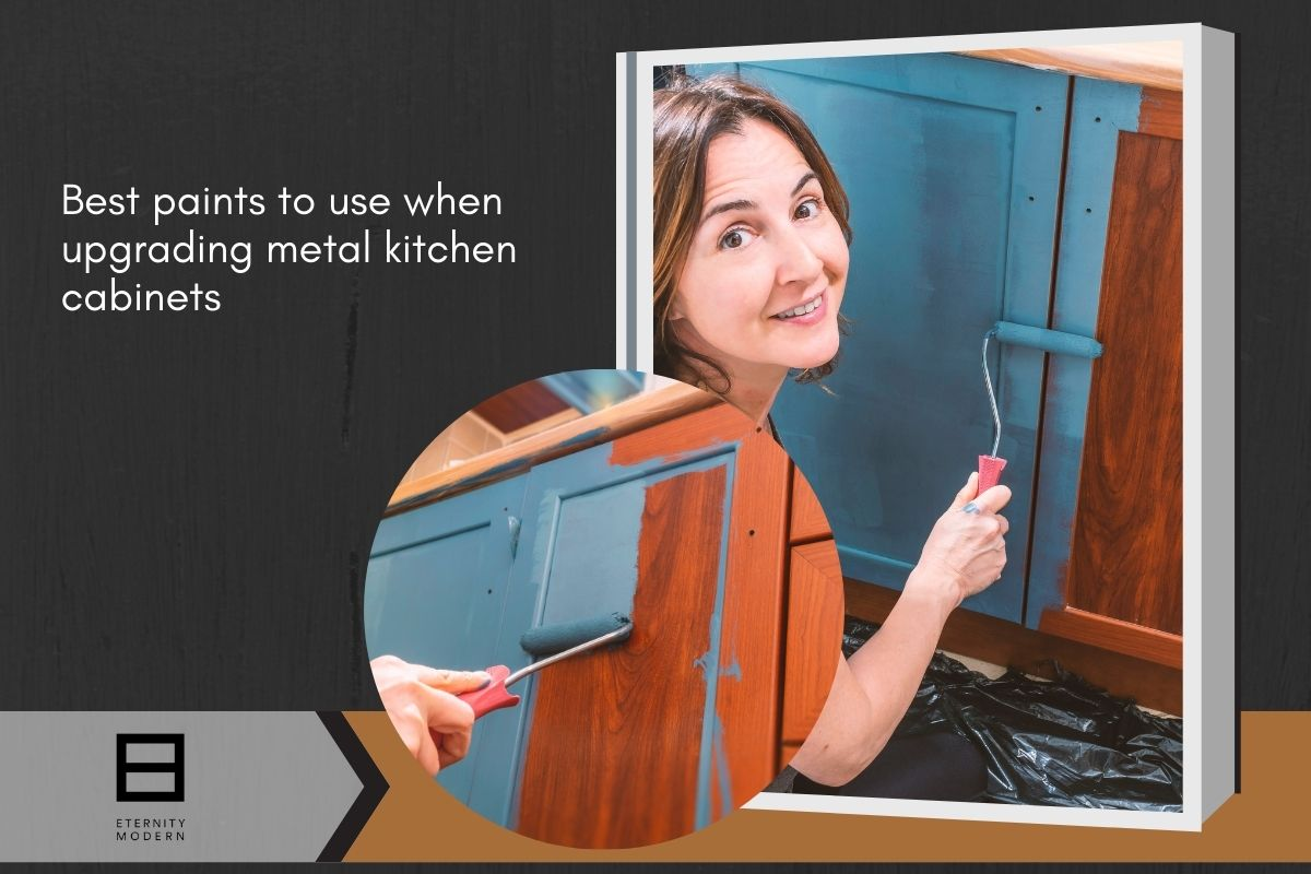best paint to use for kitchen metal cabinets