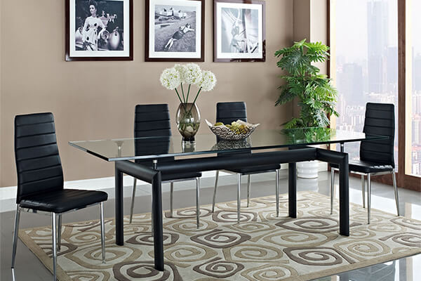 Le Corbusier LC6 Rectangle Dining Table