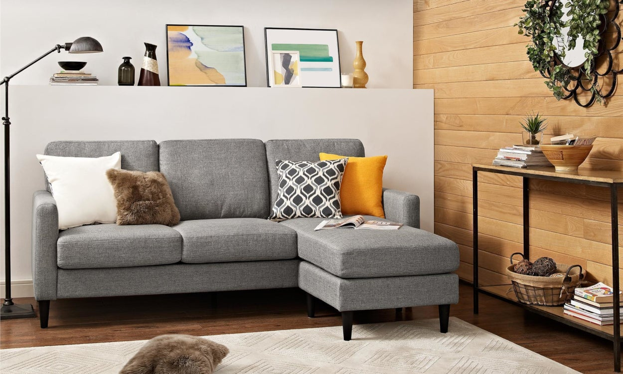 Small Mid-Century Modern Sectional