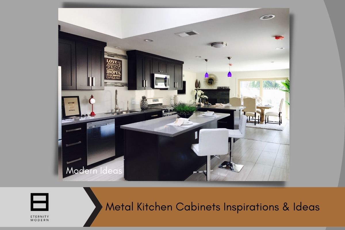 Modern Ideas for metal kitchen cabinets