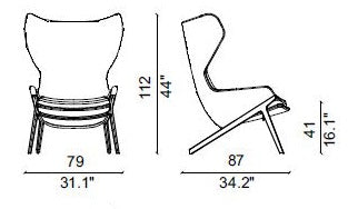 P22 Ear Chair