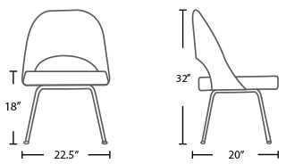 saarinen-Executive-side-chair