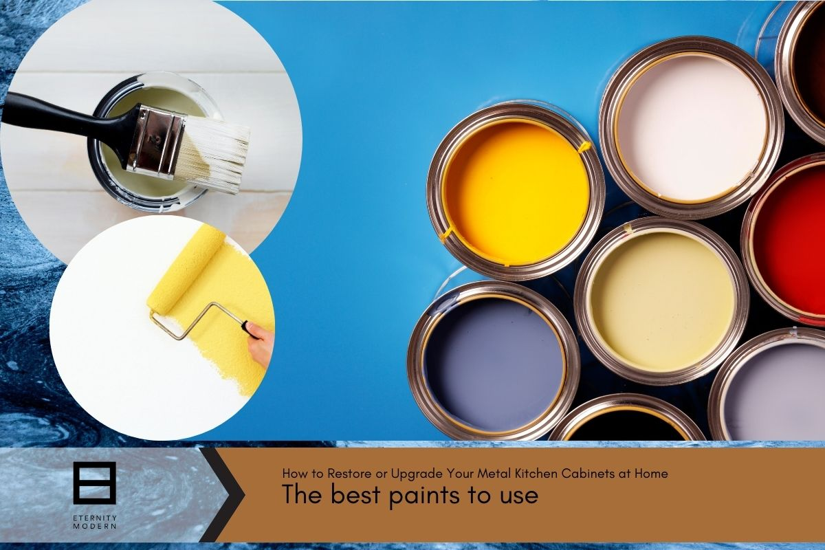 the best paints to use when painting kitchen cabinets at home