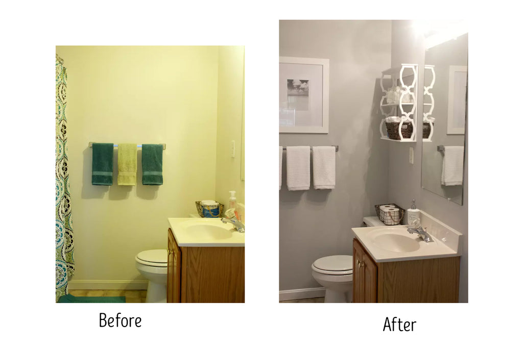43 Bathroom Makeovers That Will Make You Want To Update Yours Today Eternity Modern