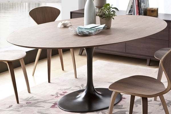 Wood Tulip Table