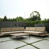 Quadra Outdoor Sectional Sofa Set
