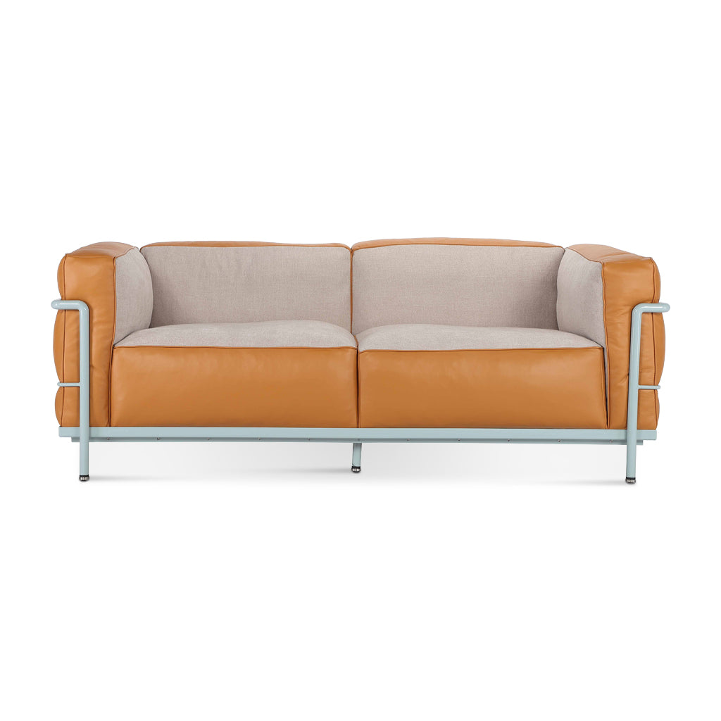 LC3 Grand Modele Two-Seat Sofa With Down Cushions | Special Edition