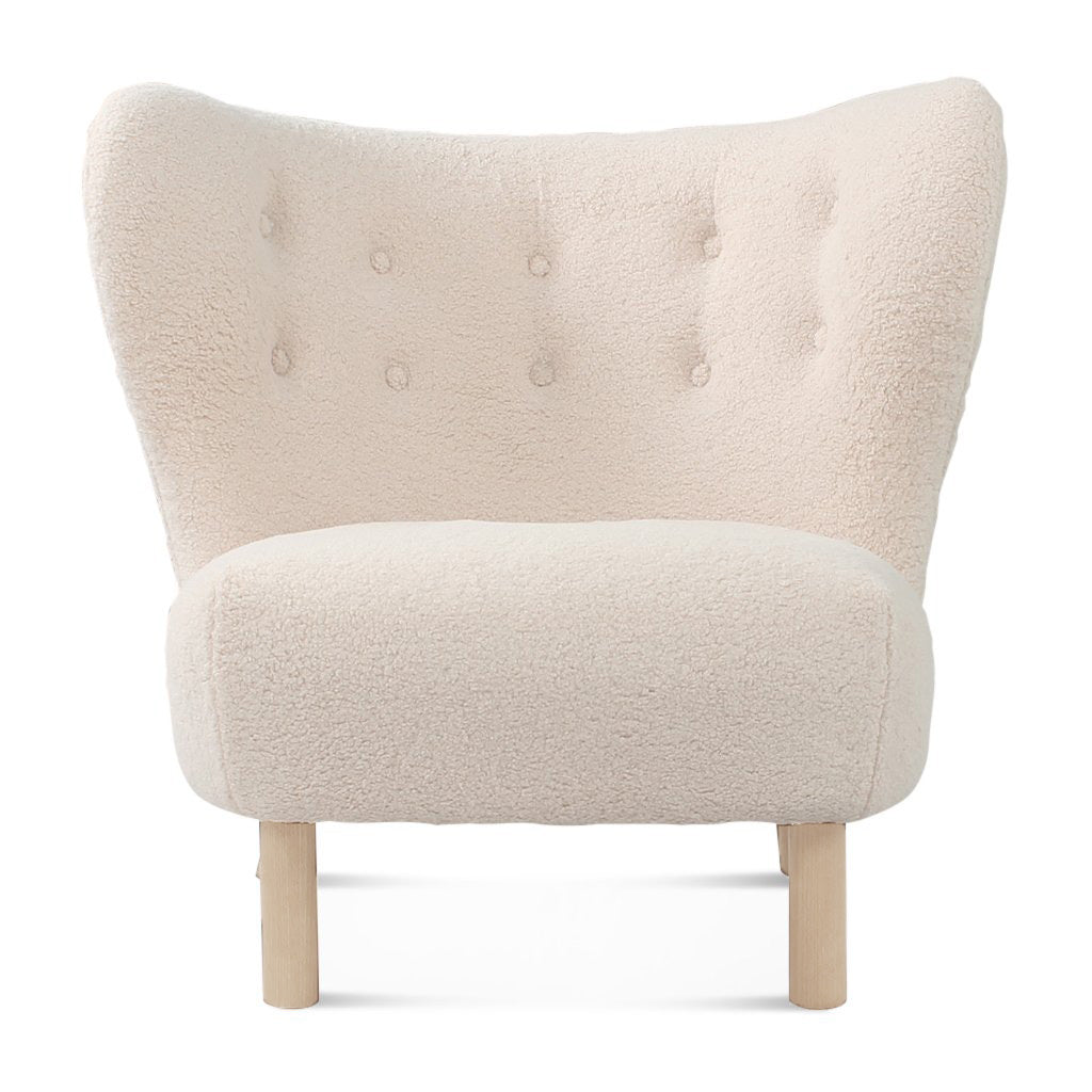 Little Petra Lounge Chair - Sheepskin-Short Hair / Natural Ash