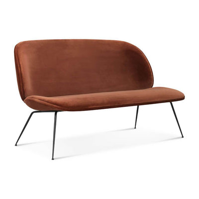 Beetle Sofa Two-Seat - Leather Upholstered - EternityModern
