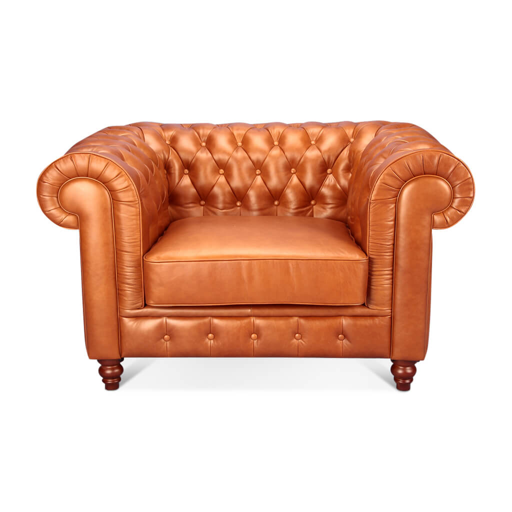 Chesterfield Sofa One Seater - EternityModern