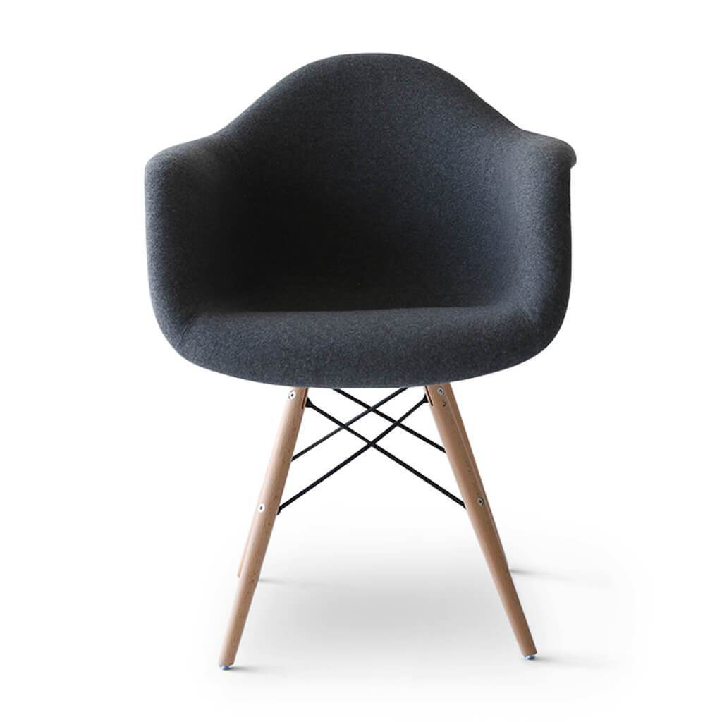 Daw Chair - Upholstered Fiberglass - EternityModern