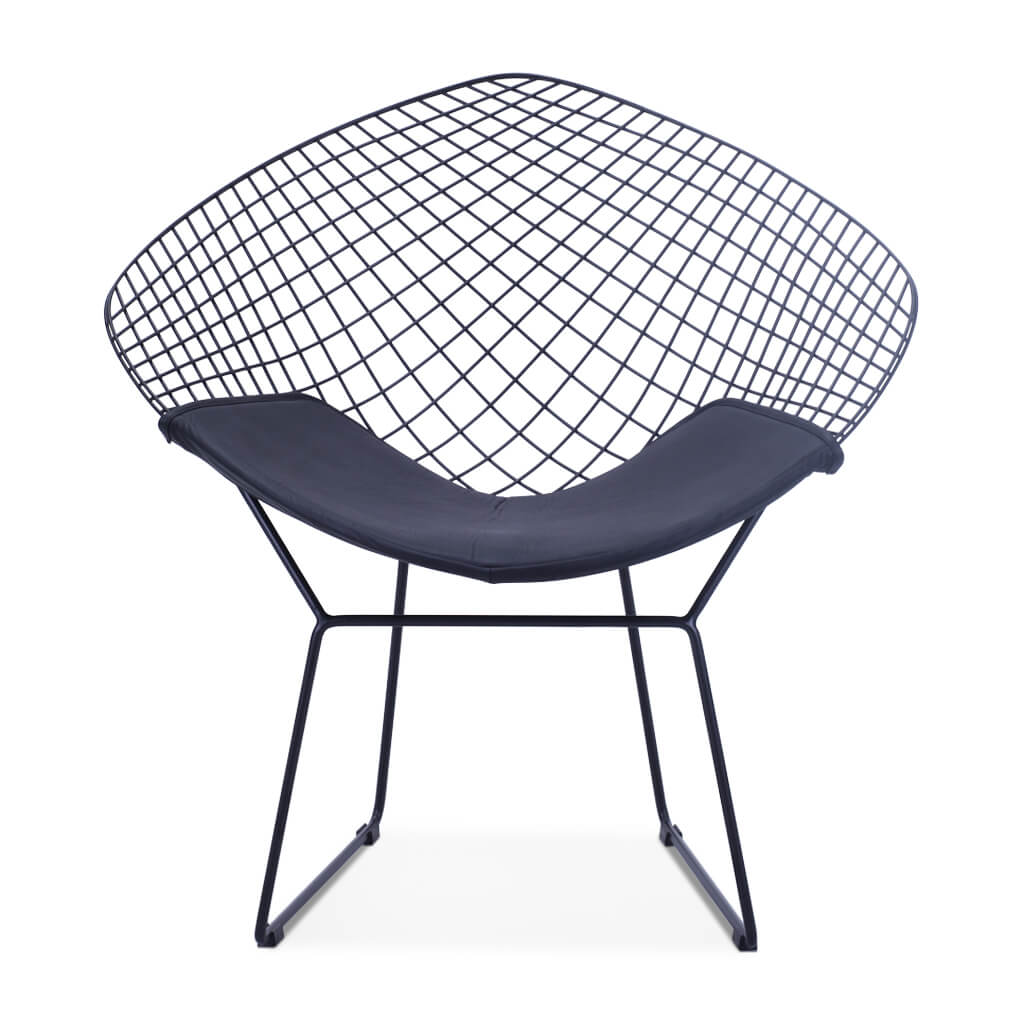 Harry Bertoia Diamond Chair - Black