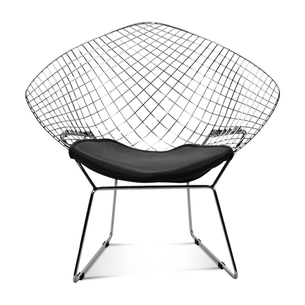 Harry Bertoia Diamond Chair - Chrome