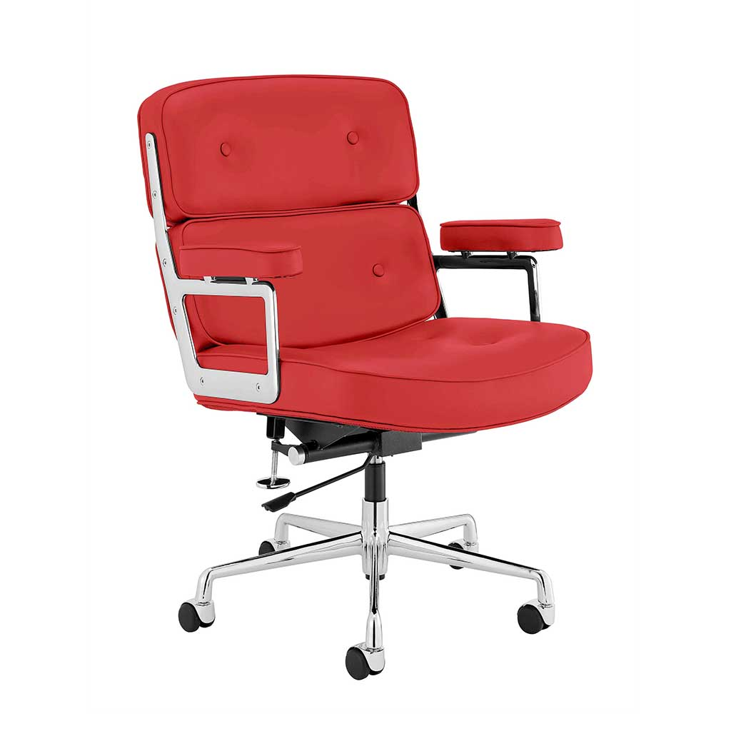 Executive Chair - Top Grain Forte-Red