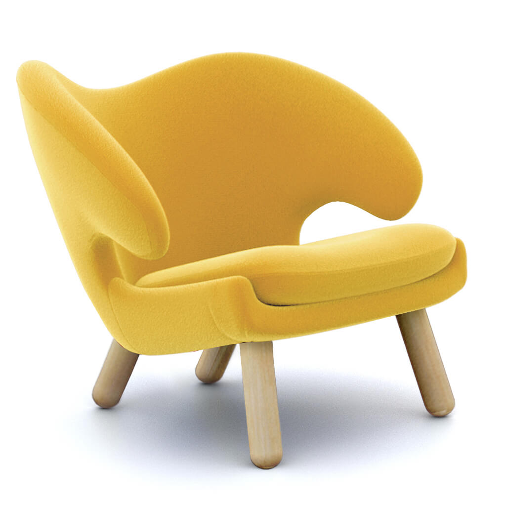 Chair Yellow Ash foto