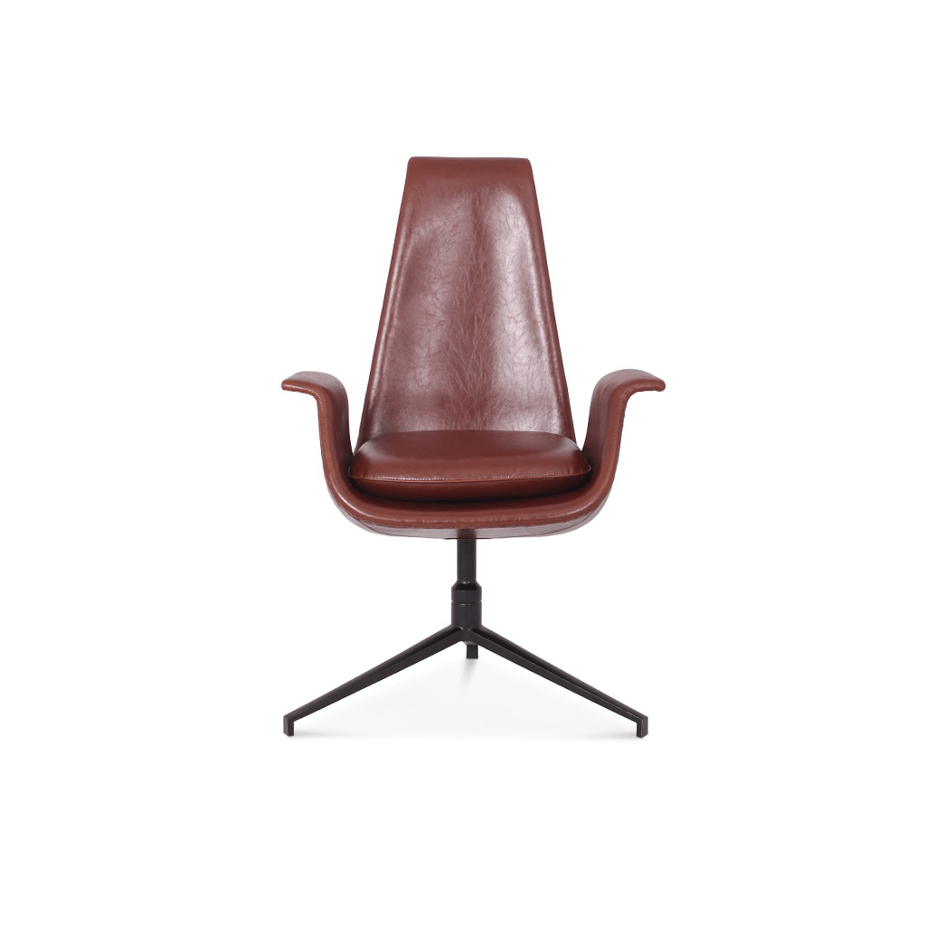 Fabricius and Kastholm Fk 6725 Bucket Chair - Aniline-Beige