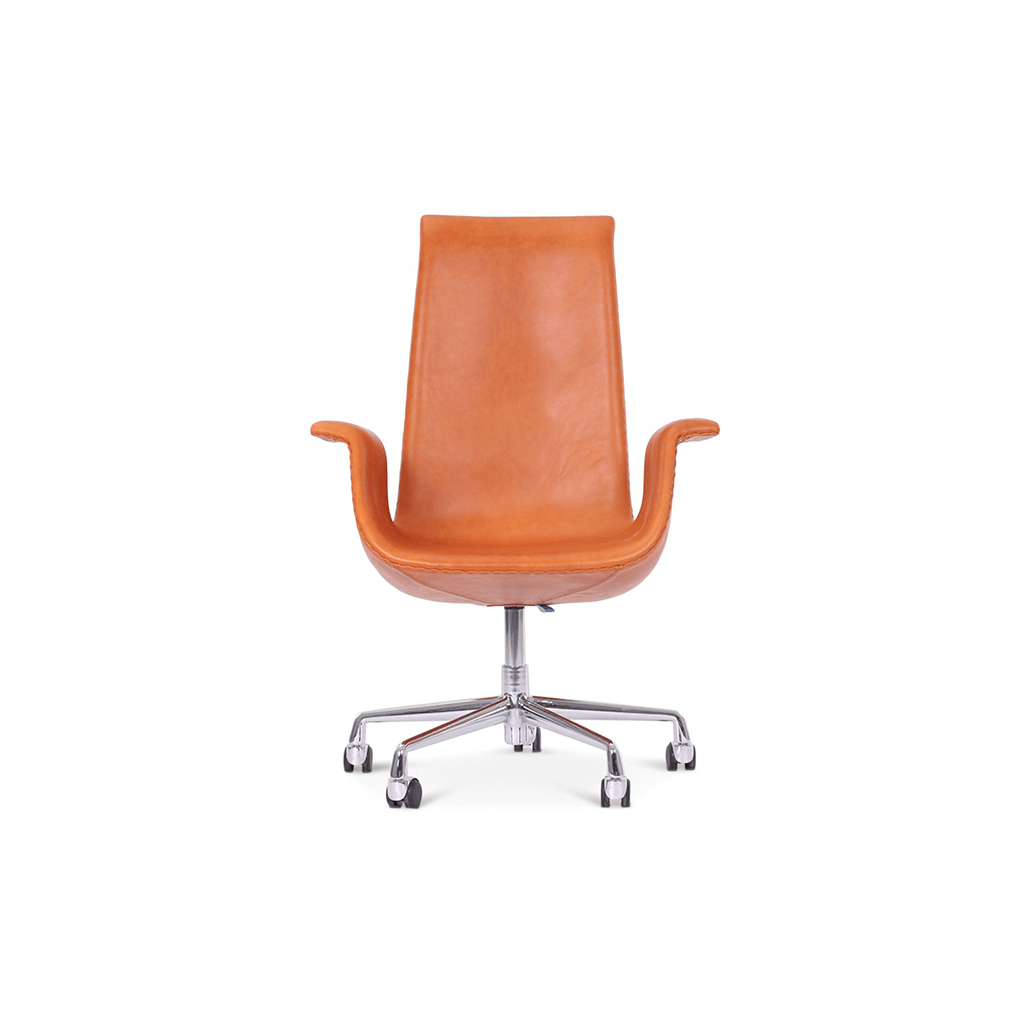 Fabricius and Kastholm Fk 6725 Bucket Chair - Classic Edition - Aniline-Beige