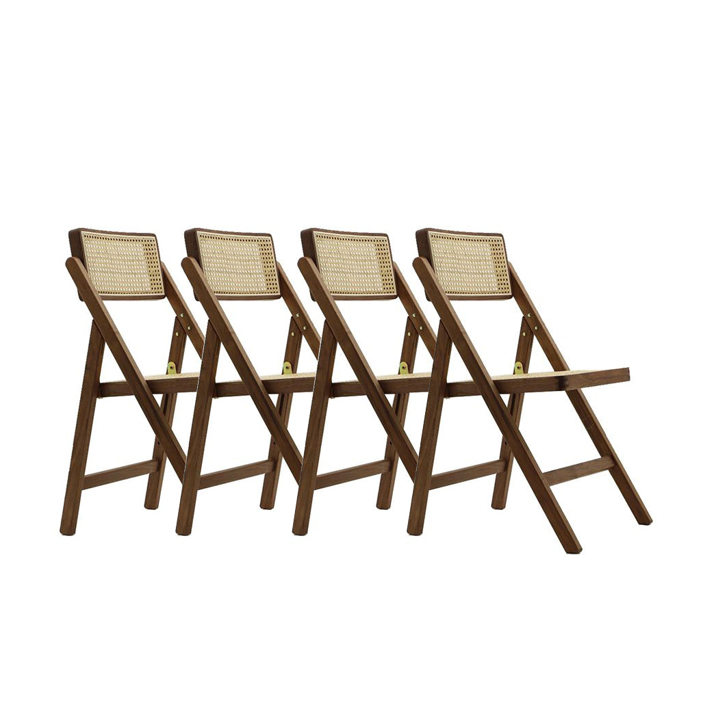 Set of Four Pierre Jeanneret Folder Chair