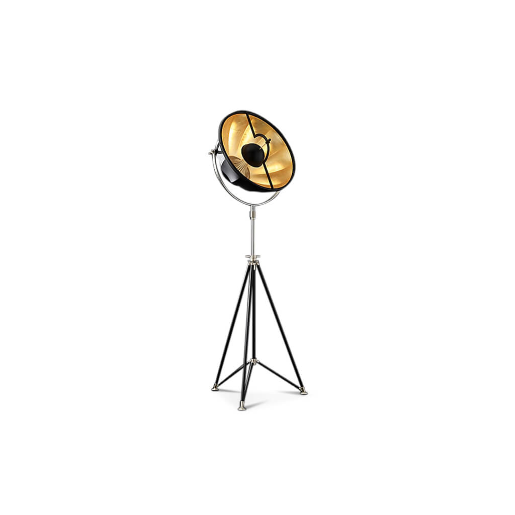 Floor Lamp Silver pic