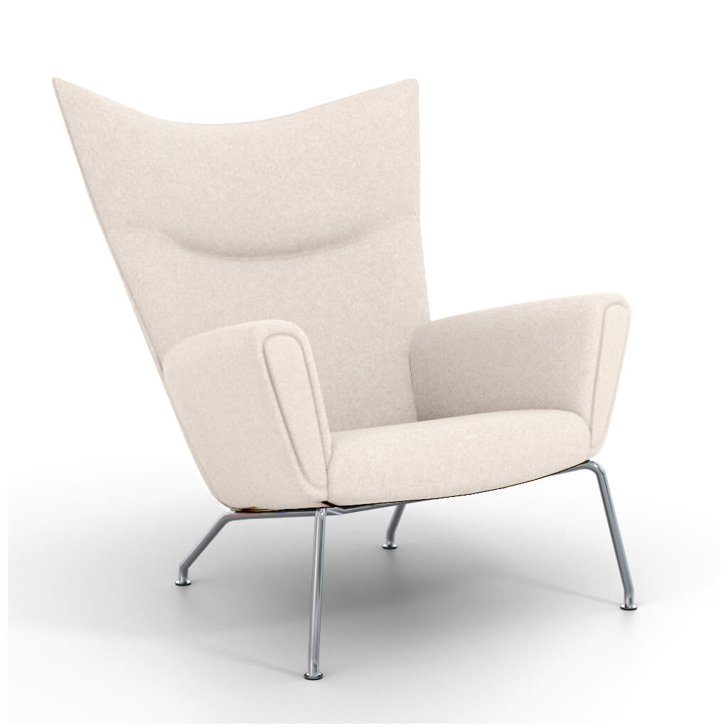 Wing Chair White foto