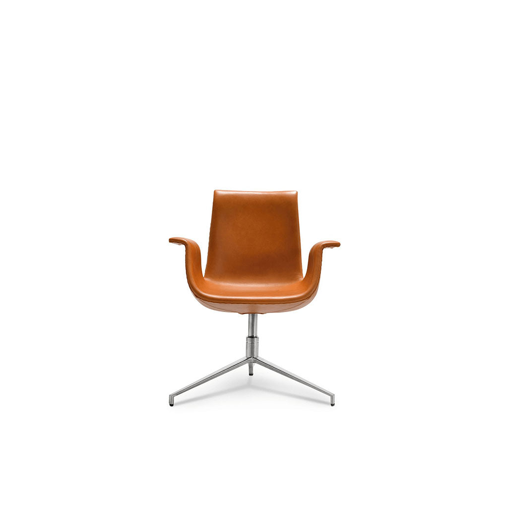 Fk 6726 Bucket Chair - Classic Edition - Aniline Leather-Beige