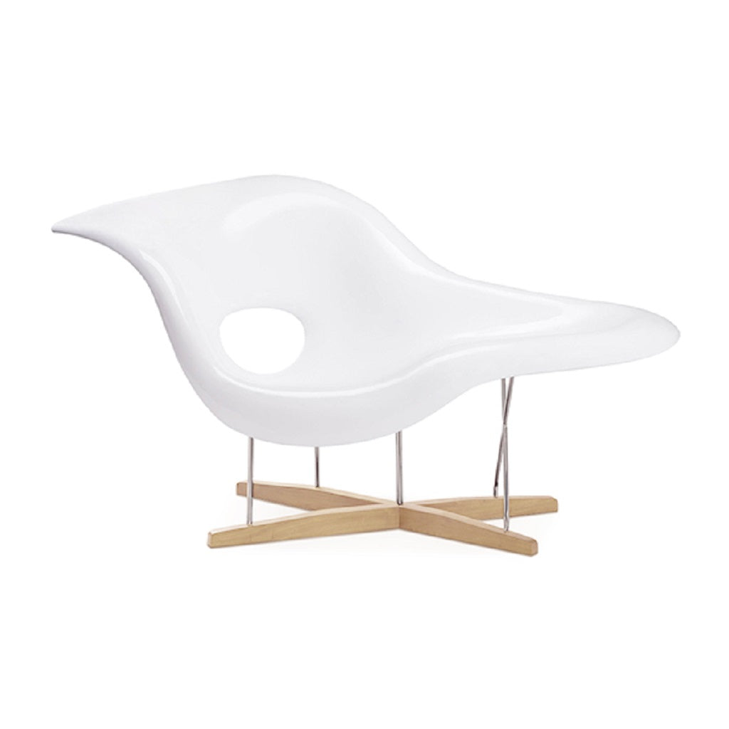 Eternity Modern La Chaise Chair - Natural Ash
