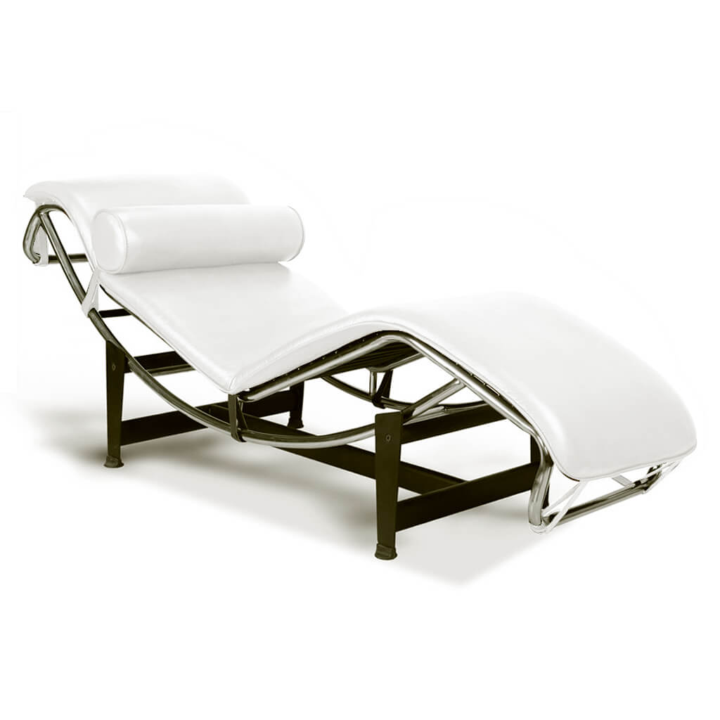 Chaise Lounge White foto