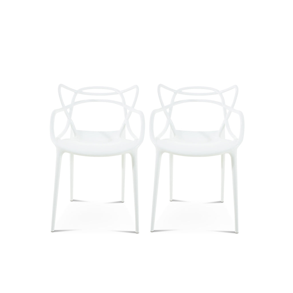 Philippe Starck Set of Two Master Chair - Mid Century Modern