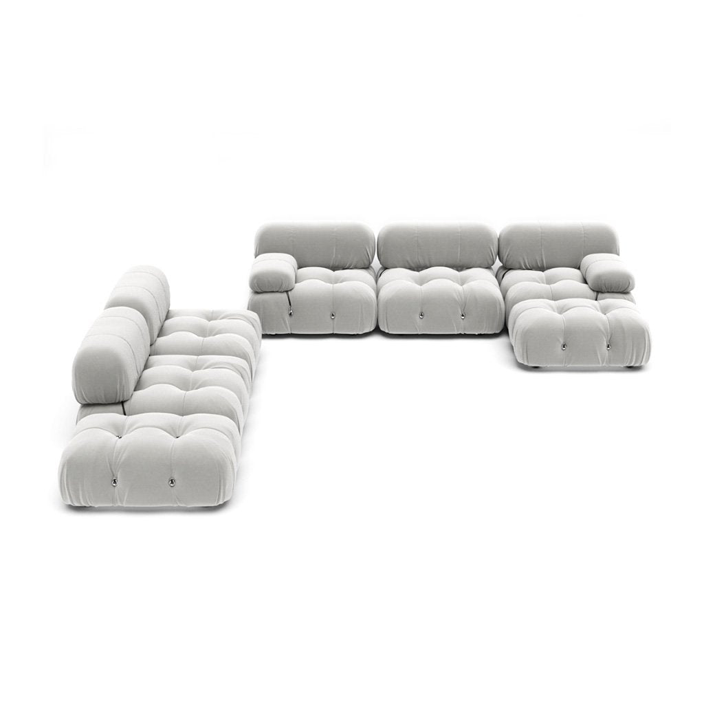 Mario Bellini  Camaleonda Sofa / Combination 007 - Cashmere-Blue Grey