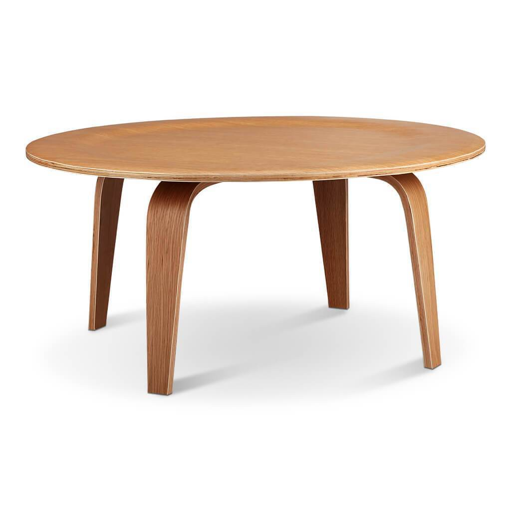 Molded Plywood Coffee Table - EternityModern