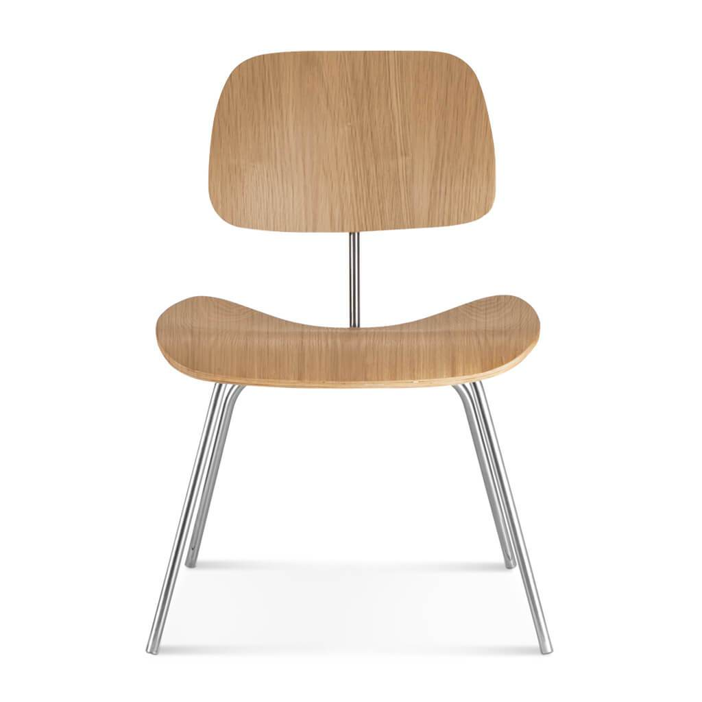 Eternity Modern Molded Plywood Dining Chair (dcm) - Oak Veneer