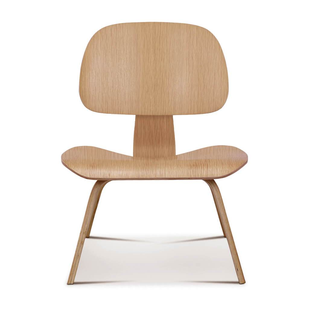Lounge Chair Oak Veneer foto