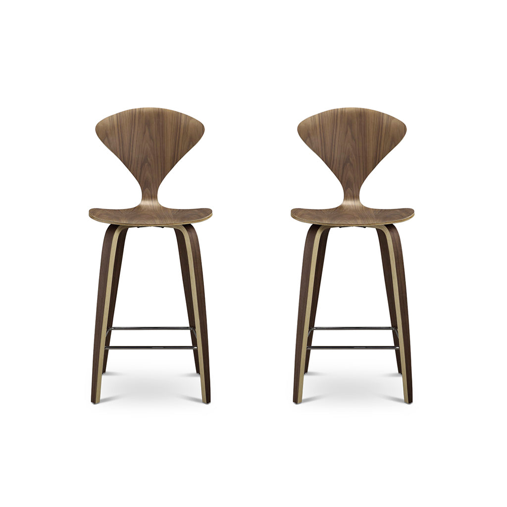 Set of Two Norman Counter Stools - Mid Century Modern