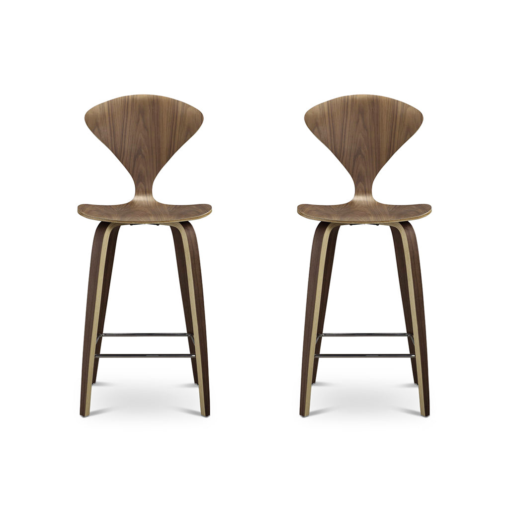 Set of Two Norman Counter Stools