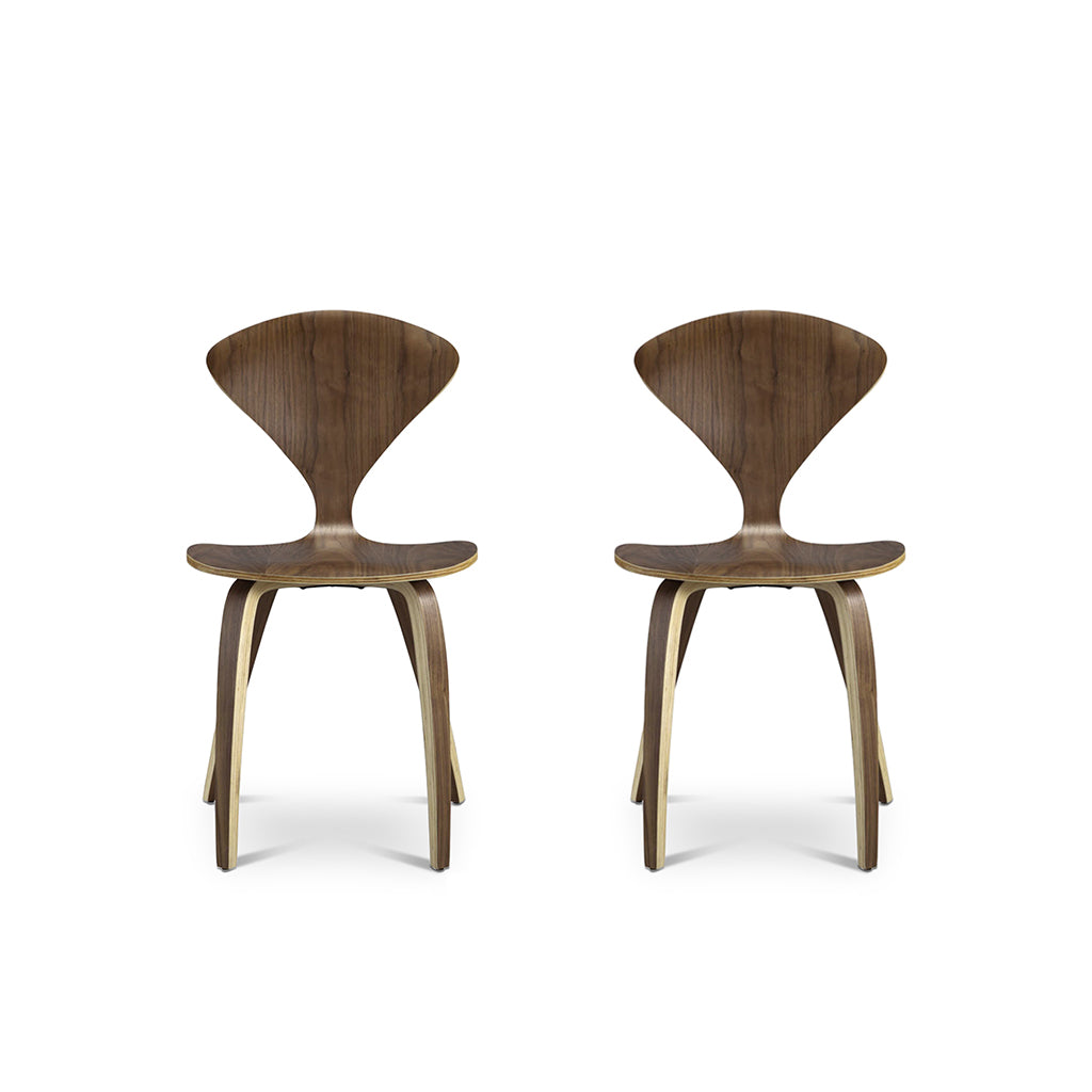 Set of Two Norman Side Chairs - Mid Century Modern