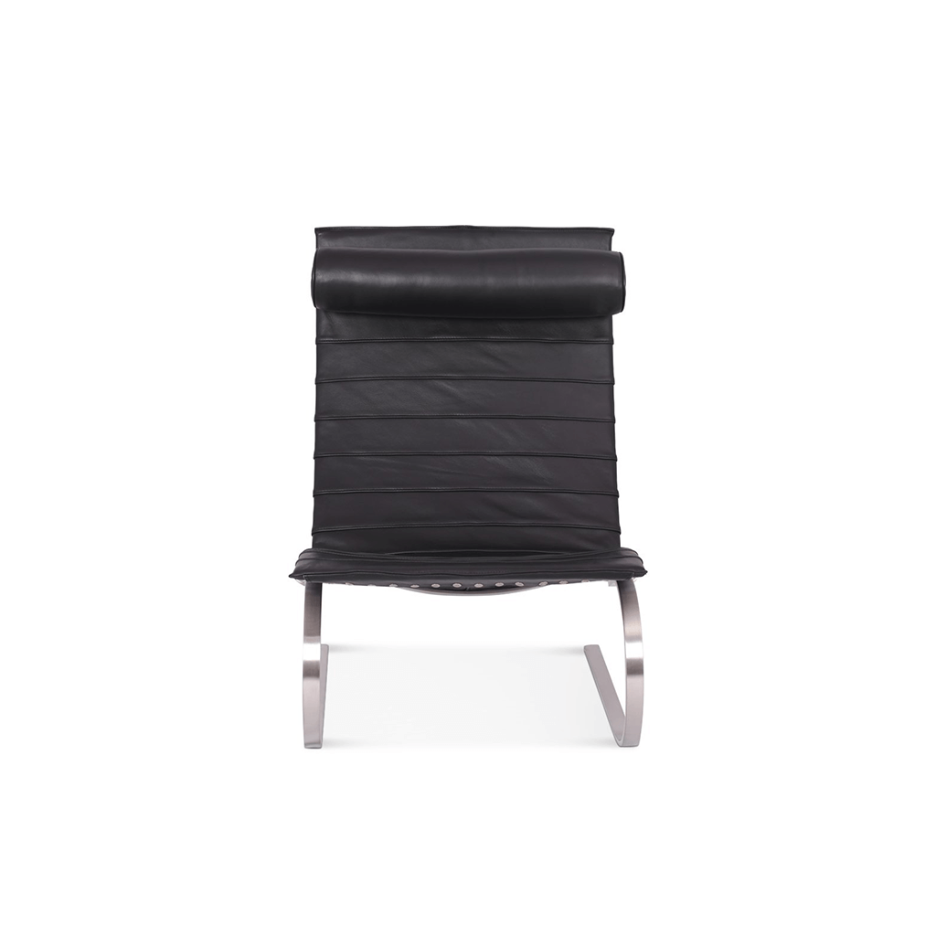 Poul Kjaerholm PK20 Easy Chair - Top Grain-Black