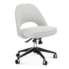 Saarinen Executive Side Chair with Casters - EternityModern