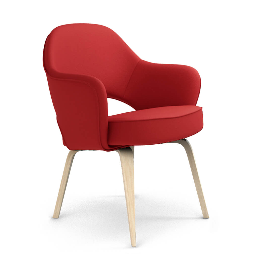 Armchair Wood Red Ash foto