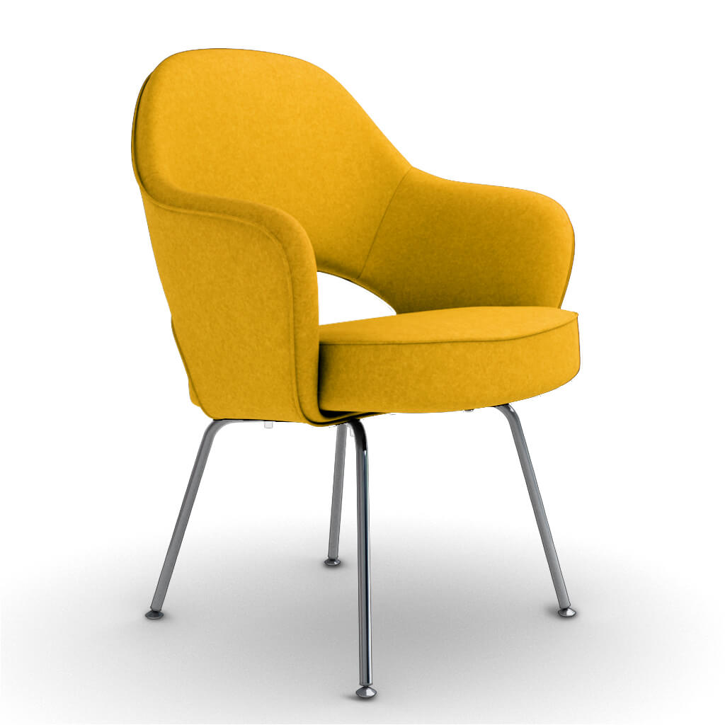 Armchair Steel Yellow foto