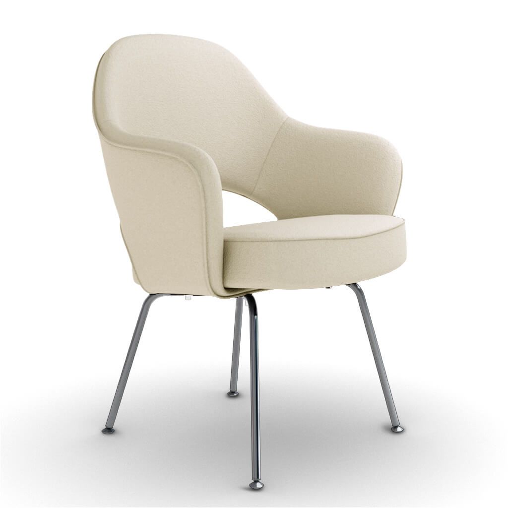 Armchair Steel Cream foto