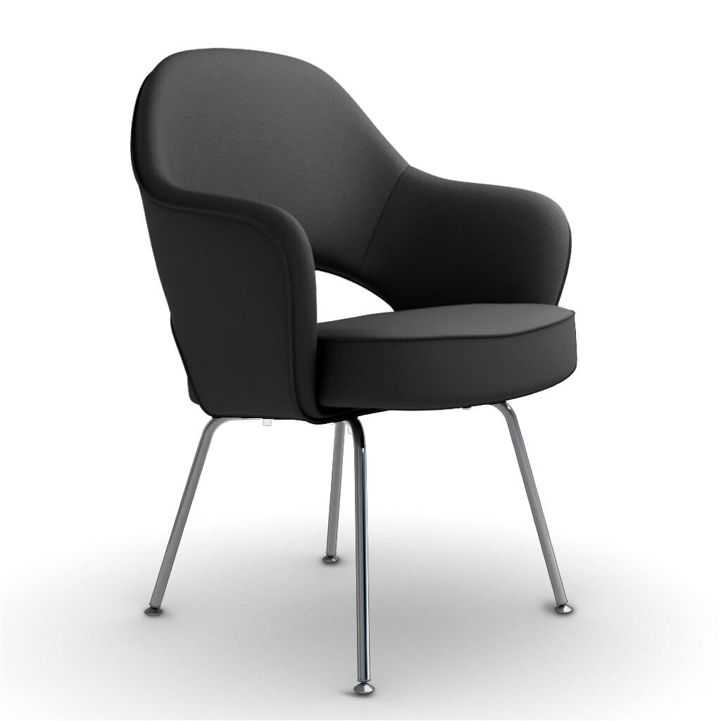 Armchair Steel Black foto