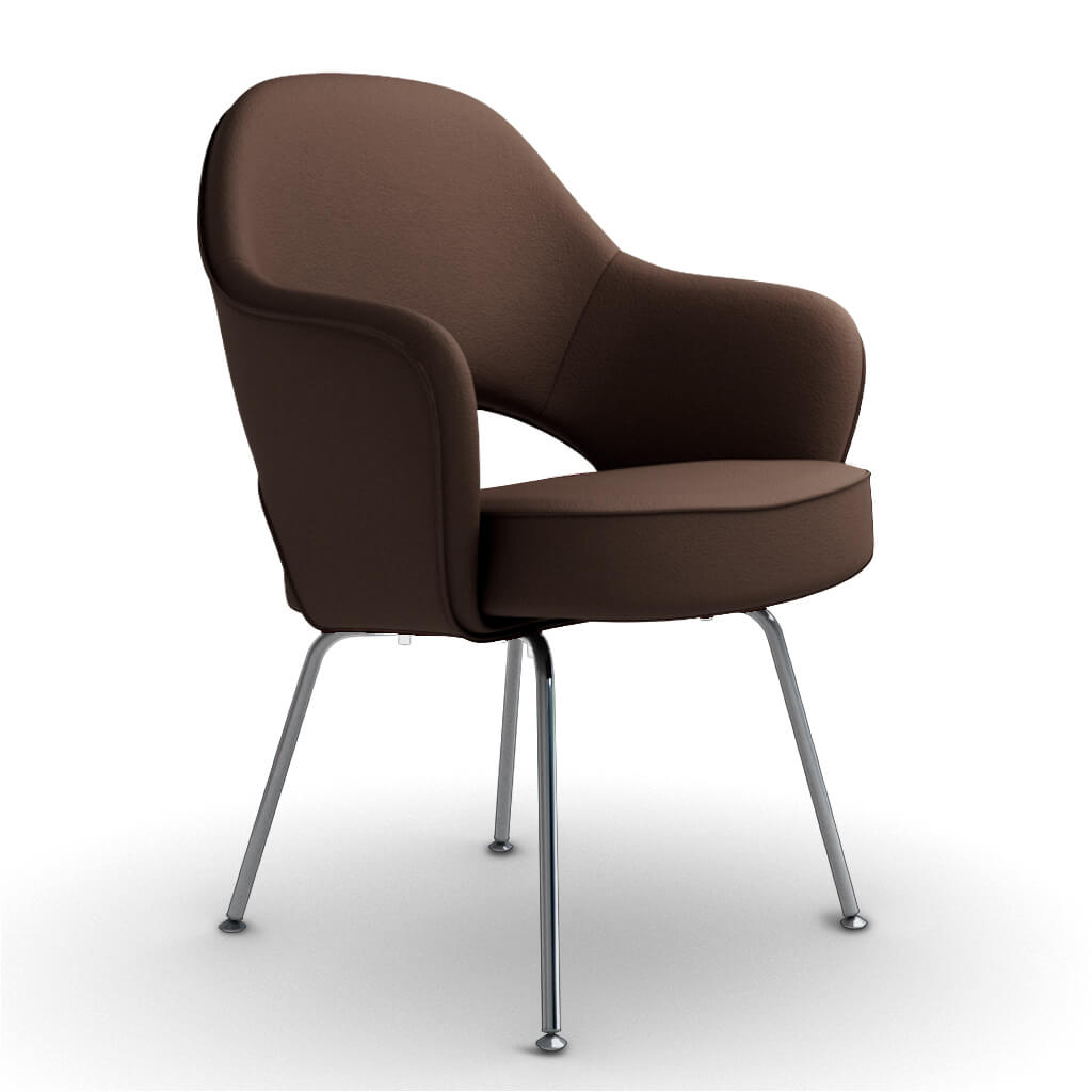 Armchair Steel Brown foto