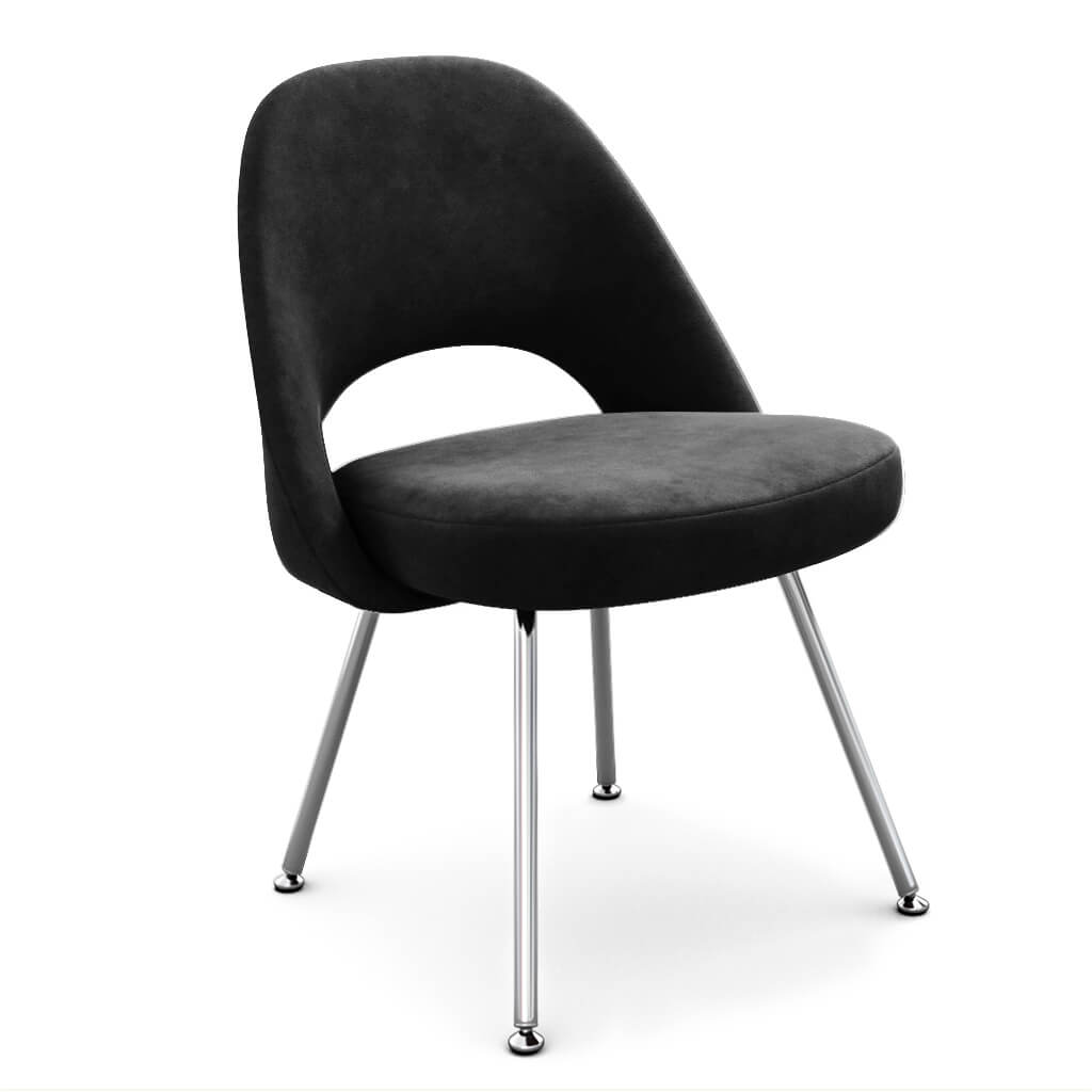 Side Chair Steel Jet Black photo
